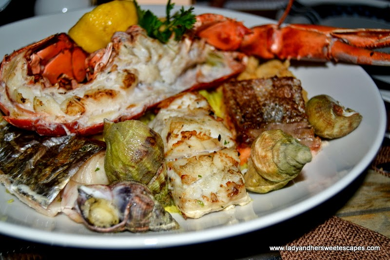 Seafood Platter at Boardwalk Dubai