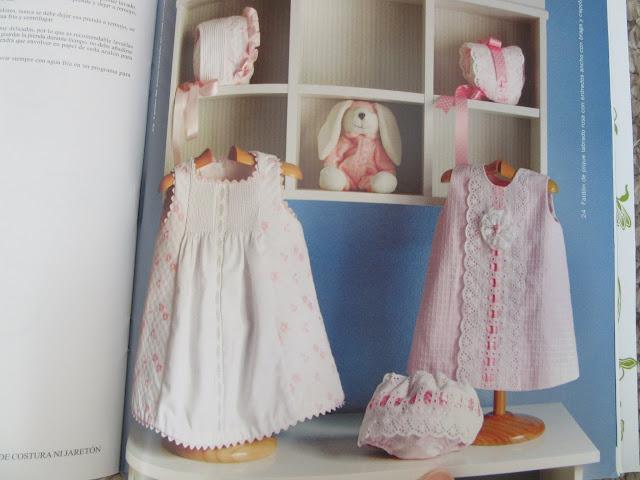 Revista con patrones de costura para ropa de bebé vestidos trapecio para niñas