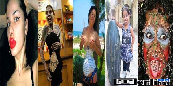 Wanita Dengan Bentuk Fisik Teraneh Di Dunia