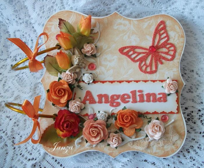 С днем рождения ангелина стихи для девочки