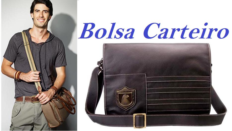 Bolsa De Couro Masculina Lateral : Jovem homem volta as aulas bolsas masculinas