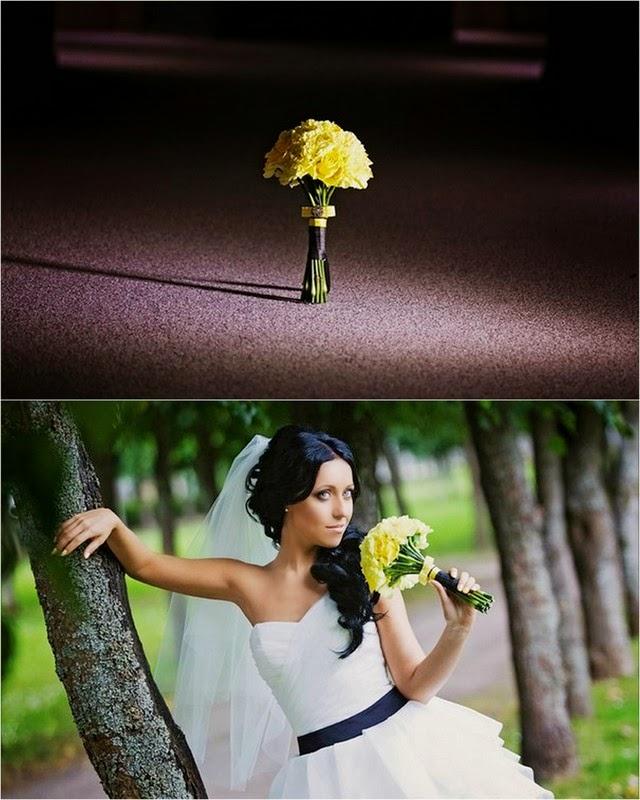 свадебный букет невесты из гвоздики