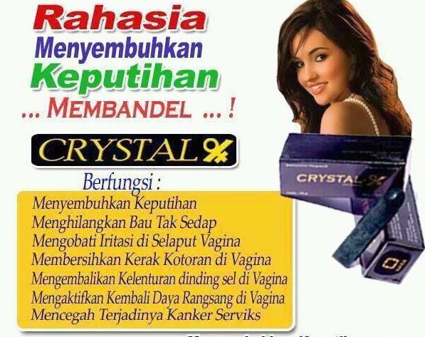 crystal x rahasia wanita sehat
