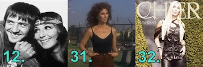 66 Things We Love About Cher' numbers 12, 31 and 32
