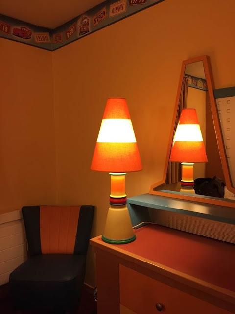 décoration chambre hôtel Santa Fe Disneyland Paris