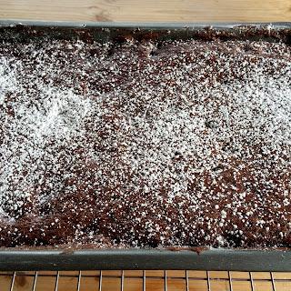 Brownie Tray Icing Sugar