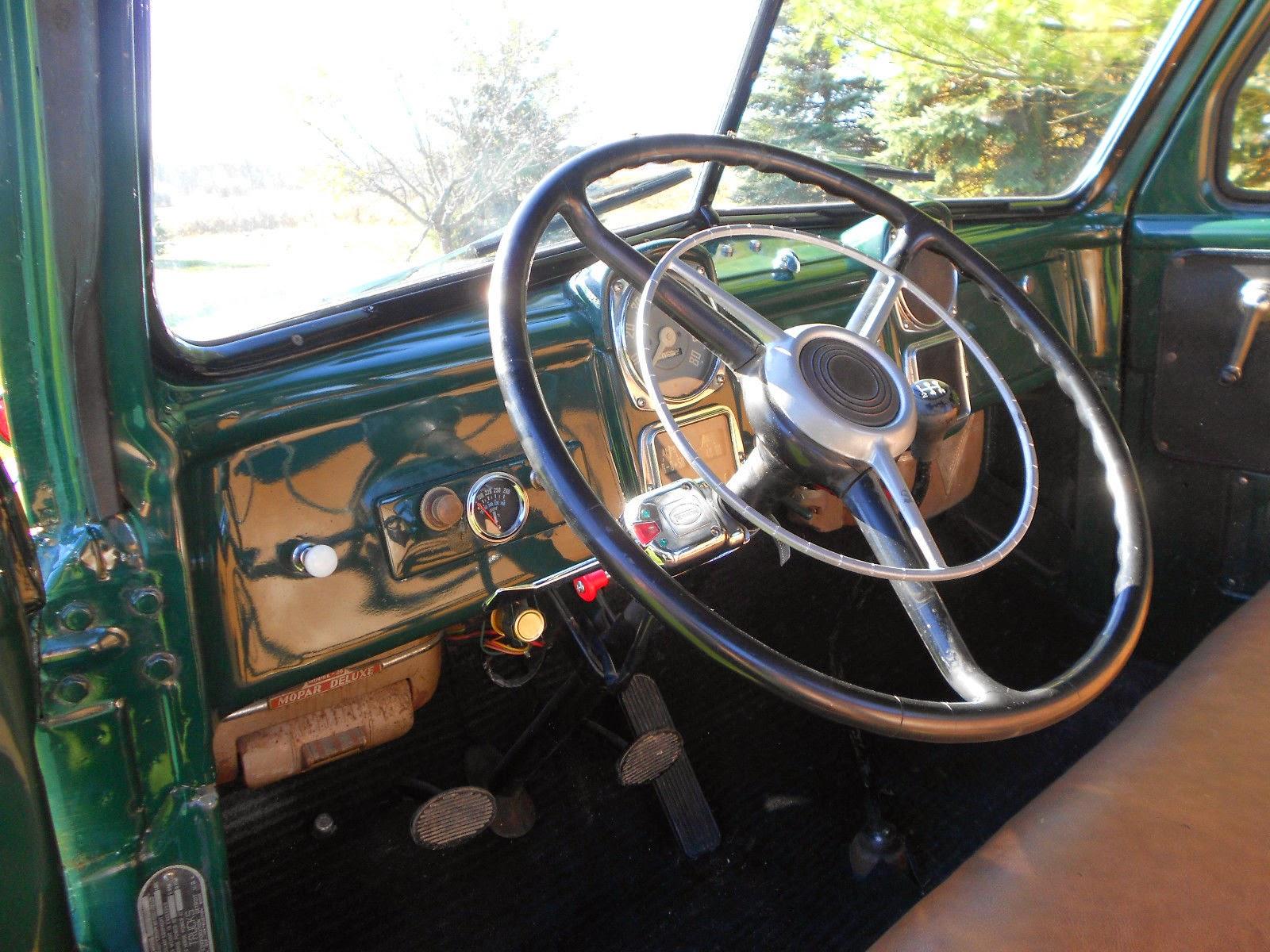Rare 1951 Dodge B Series Dually Pickup Truck Auto