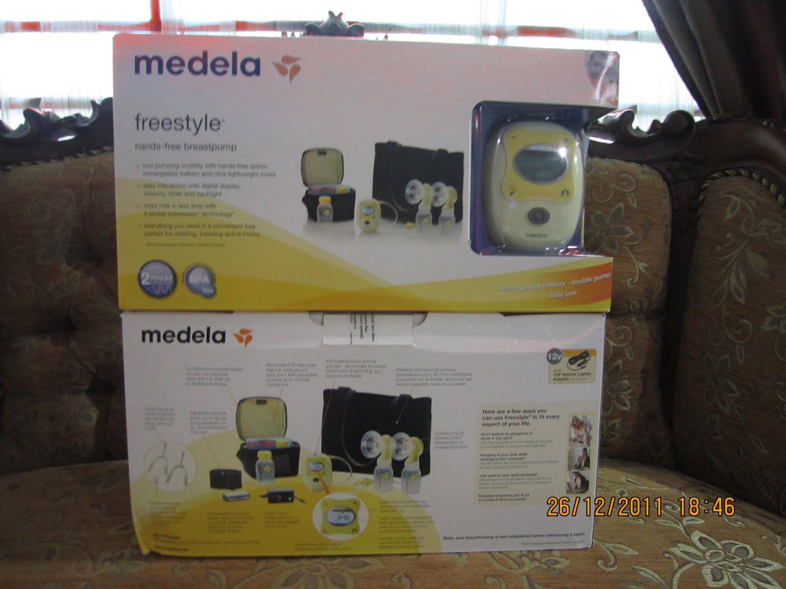 medela freestyle breast pump instructions