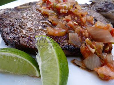 Brava Steaks with Lazy Salsa