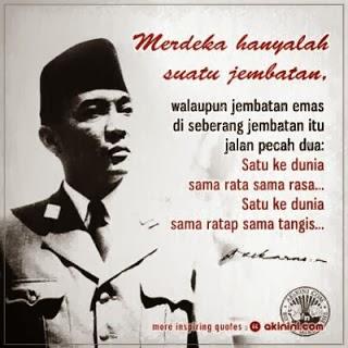 Kata Mutiara Soekarno