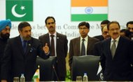 Anand Sharma, Amin Fahim, Pak India Relations
