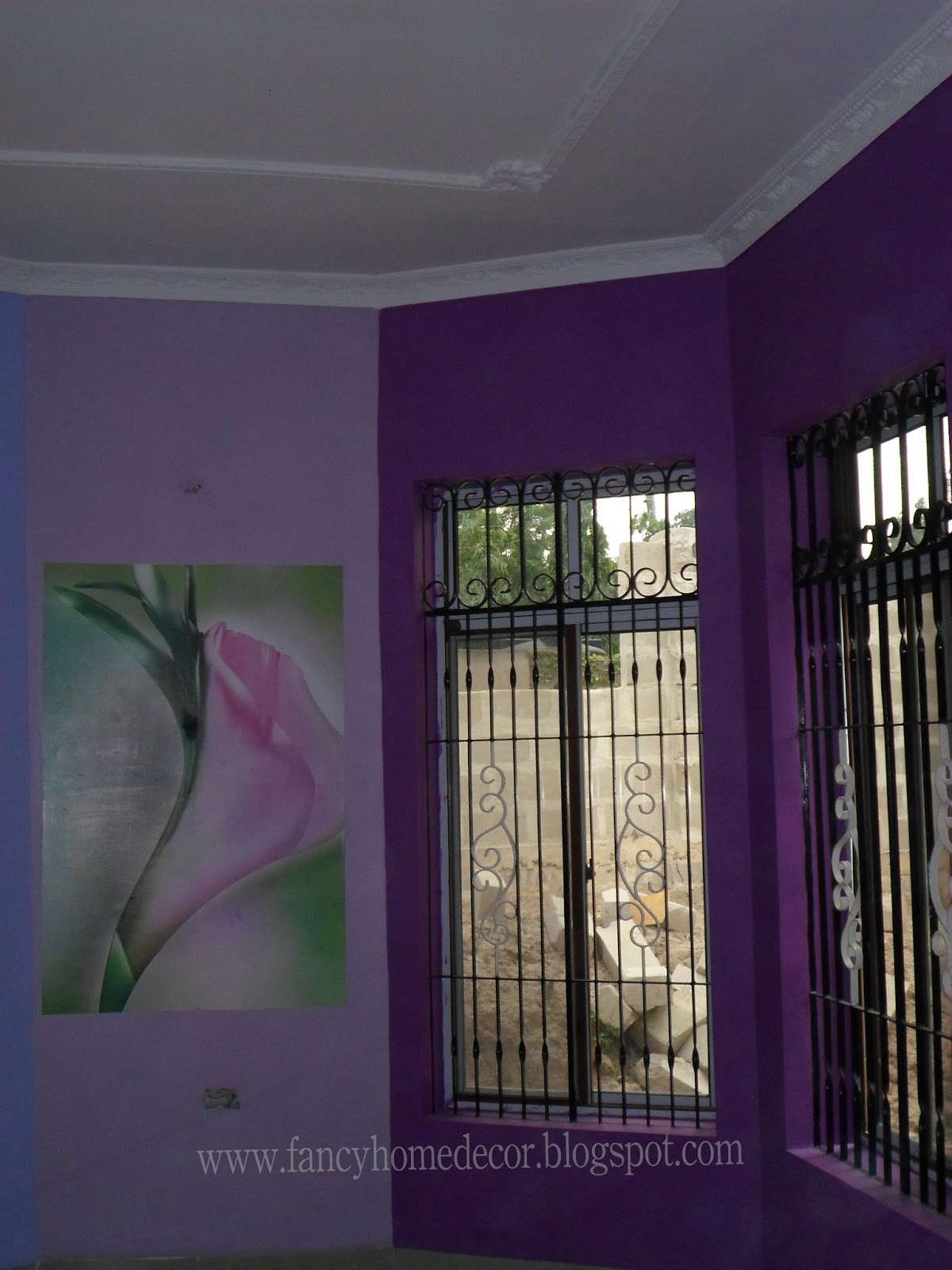 Best home decoration fancy home decor project living for Fancy wallpaper for living room