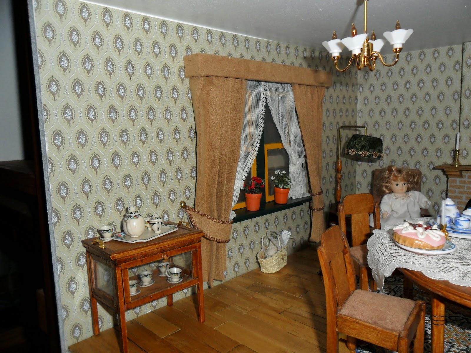 Crealenie\'s poppenhuis blog: Vitrage en gordijnen