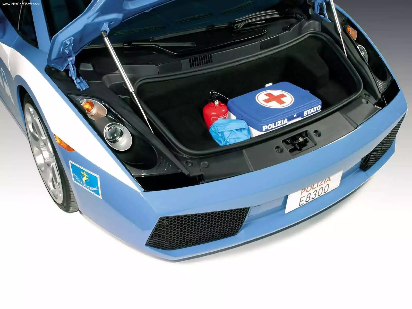 Hình ảnh siêu xe Lamborghini Gallardo Police Car 2004 & nội ngoại thất