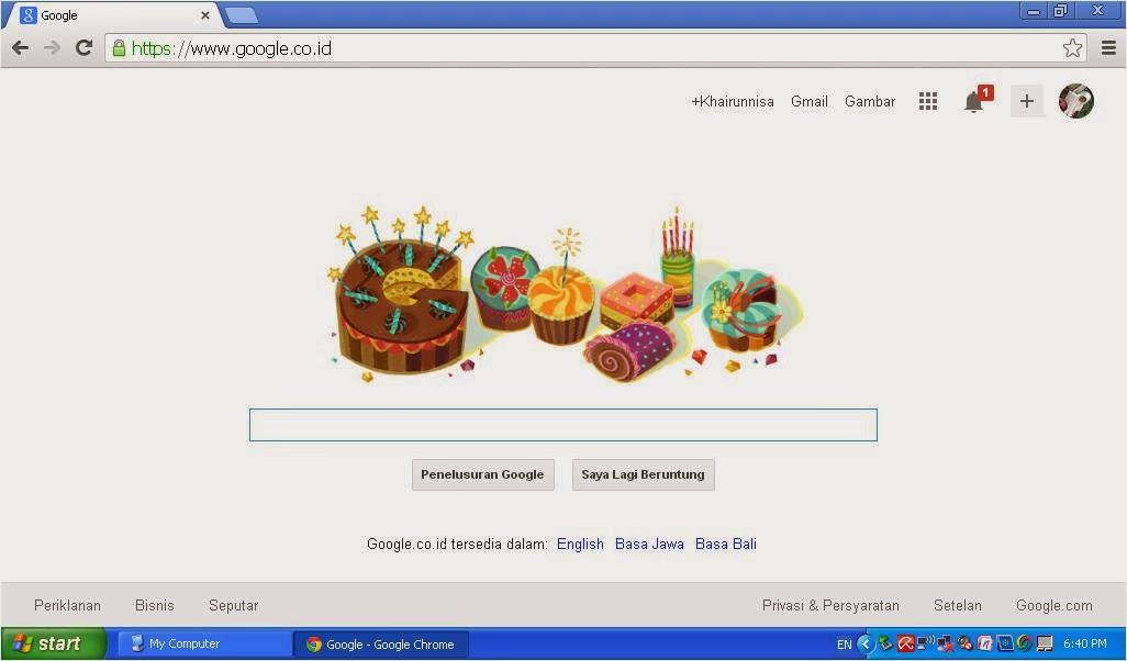 Ucapan Selamat Ulang Tahun Dari Google