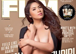 Diana Zubiri Is Sep Cover Babe!