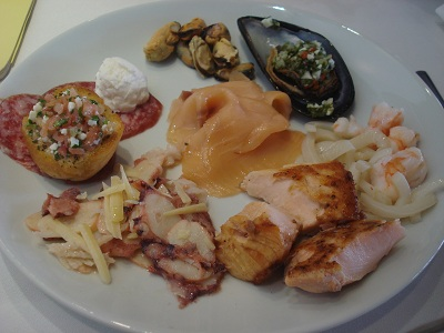 Le Due Torri: A melhor mesa de antipastos