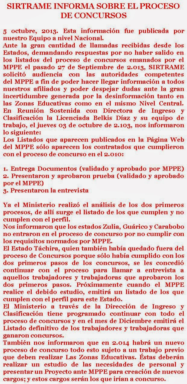 siempre informados con hubert: Personal Administrativo del MPPE
