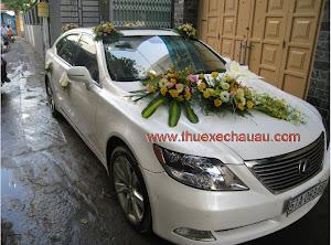 Hoa xe cưới MS017