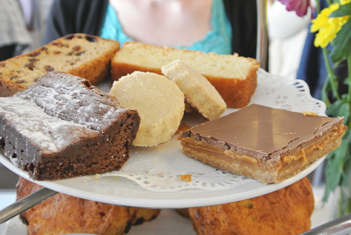Cakes at The Willow Tea Rooms