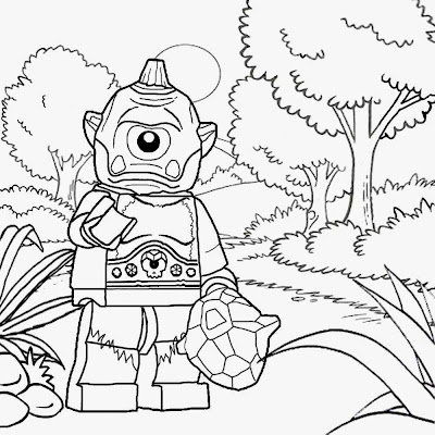 LEGO Figures Coloring Pages