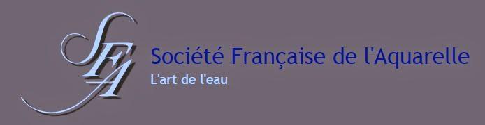 Je suis membre de la Société française d'Aquarelle