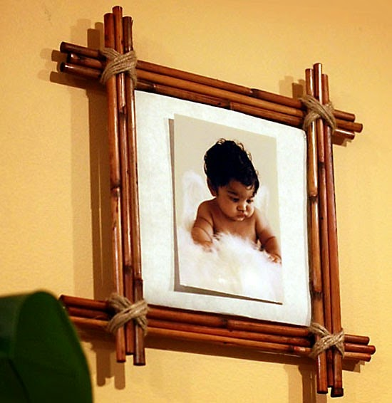 Bamboo craft ideas for home decor art craft gift ideas for Crafts using bamboo