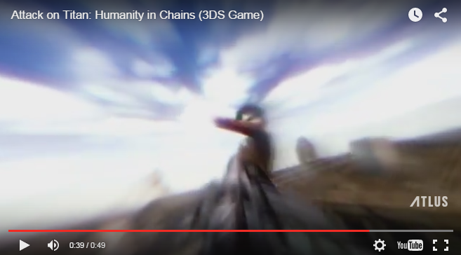 Attack on Titan: Humanity in Chains in Nintendo 3DS