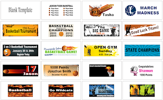 Basketball Banner Templates