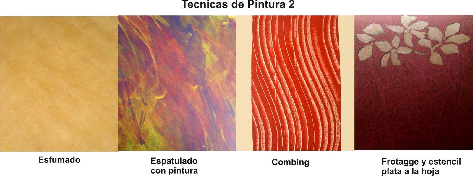 Deco project cursos modulos de tecnicas en pintura y - Tecnicas de pintura paredes ...