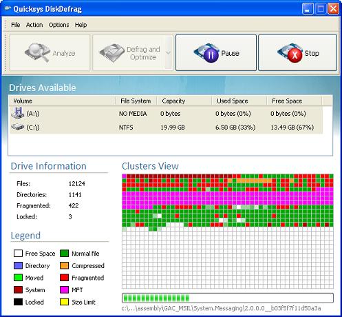 Microsoft Windows XP - Defrag