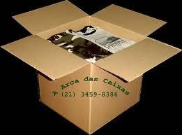 A Arca das Caixas tem embalagens de papelão ondulado mudanças
