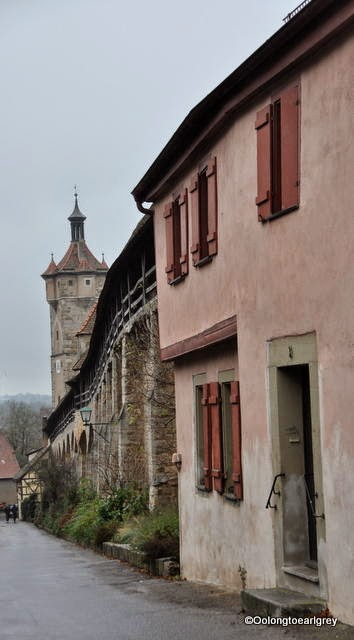 City Walls, Rothenburg, Germany