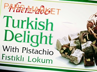 Pars Market Hacizade Turkish Pistachi Turkish Delight in Columbia Maryland 21045