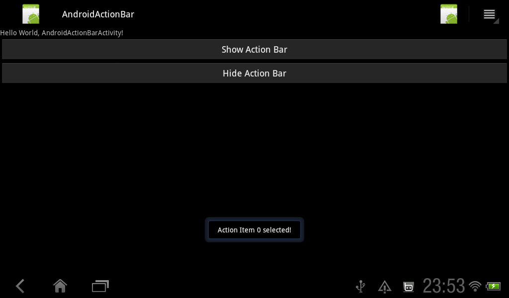 Android 3 0 oncreateoptionsmenu not called dating 3