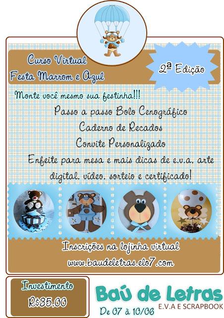 Sorteio Relâmpago Baú de Letras. Participem!!!