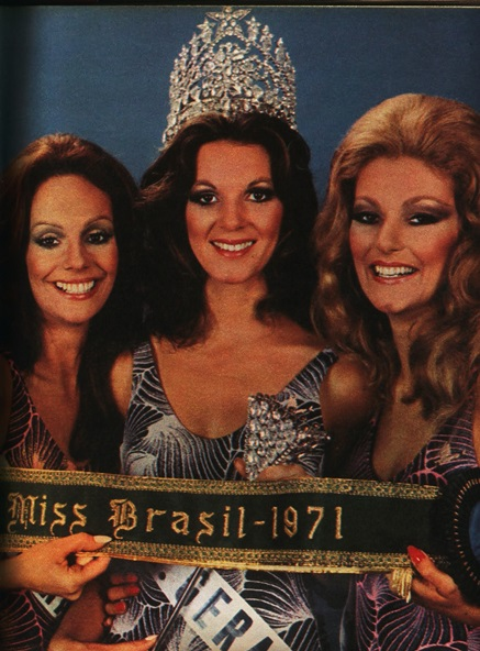 1971 - Top Tres Miss Universo Brasil