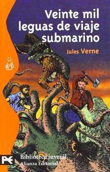Portada del libro 20000 leguas de viaje submarino para descargar pdf