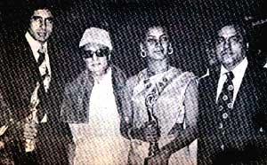 MGR & Amithabh Bachan in 'Filmfare' Awards