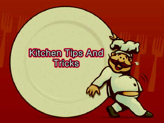 kitchen tips and tricks