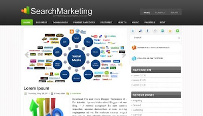Search Marketing Blogger Template