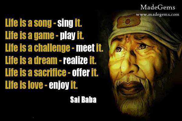 Sai Baba Quotes Photos