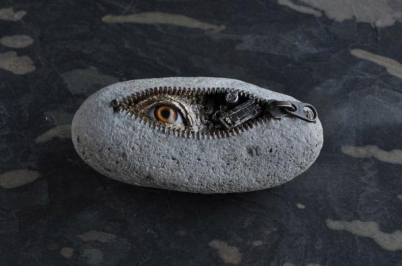 Impresionante esculturas de piedra por Hirotoshi Itoh