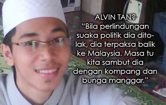 Punca Sebenar Kenapa Alvin Tan Suka Hina Agama Islam