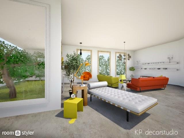 proyecto de interiorismo vintage industrial decorador online