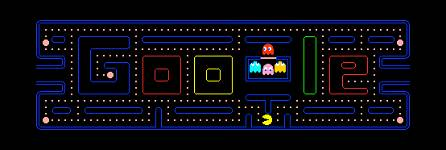 Google Pacman magic trick