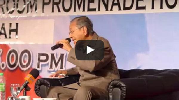 Majlis Bicara Negarawan bersama Tun Mahathir di Sabah
