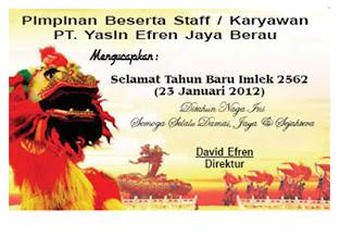 PT Yasin Efren Jaya Berau