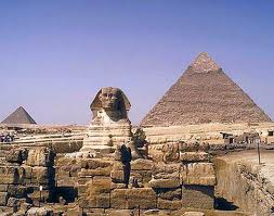 Pyramid & Sphinx Of Giza