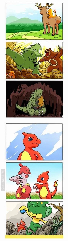Una bonita historia Pokemon